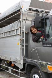 子牛買い付けで九州まで走らせることもあるトラックで