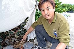 獣害から農地を守れ!被害から活用に! 渡辺秀典さん(35)=愛媛県今治市