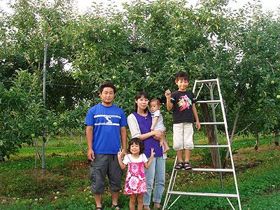 高野寛子さんの家族集合写真