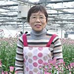 乗り越える先に咲く花を求めて 農業、高橋里子さん(63)=栃木県真岡市