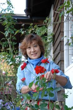 千年の村の庭づくり 佐々木利子さん(58)=秋田県にかほ市