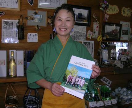 『ほのぼの茶屋』本日も開店します。 窪田エツ子さん(62)=大分県中津市