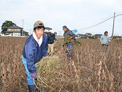 被災農地の復耕 竹沢 一敏さん(49)=福島県相馬市