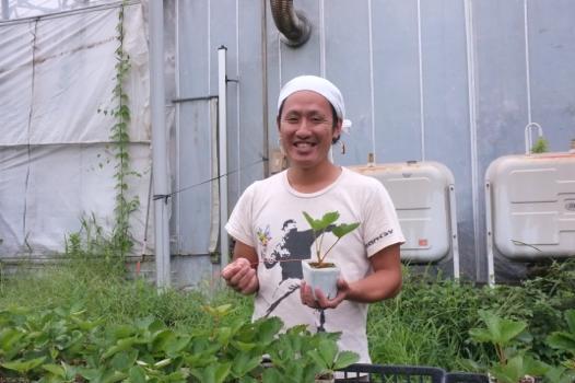 農業の楽しさ 小辻孝輔さん(30)=茨城県つくば市