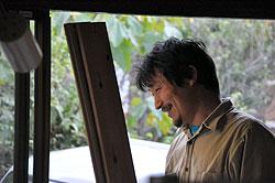 農的暮らしのすすめ 加藤大吾さん(39)=山梨県都留市