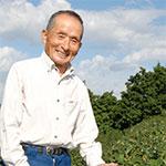 新舞台に立つ 農業、臼ケ谷博司さん(75)=静岡県藤枝市
