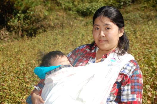 開墾から始まった自分の居場所づくり 長田容子さん(31)=山梨県上野原市