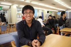 今の日本はおなかがへっている 長谷祐太さん(21)=北海道江別市