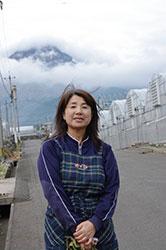 農業を大切に思う心 川田とも子さん(58)=長崎県南島原市