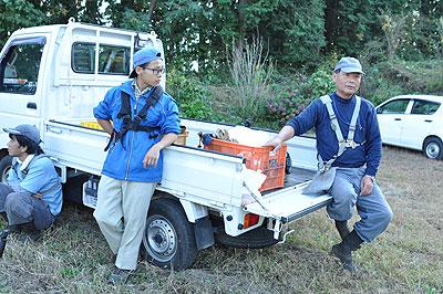 堀口達矢さん(16)と父親