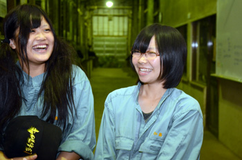 笑顔の加藤里佳さん