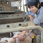 命の記憶を胸に新たなる夢に向かって 峯松ひなたさん=兵庫県立播磨農業高3年