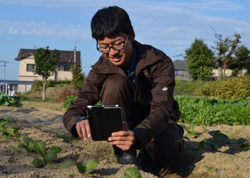 『こんにちは、西川農園園主です』~西川農園の今までとこれからと~ 西川怜央さん(17)=香川・県立農業経営2年