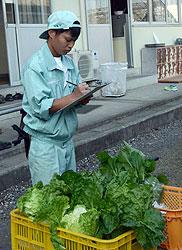 就農目指して活動する中で 阪下健太さん(17)=静岡農業3年