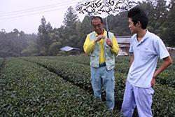 お茶の販路拡大を目指して 杉本 和生さん(18)=静岡・磐田農業高校3年