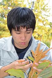 雑穀でみんなを笑顔に 北原 直樹さん(18)=長野・上伊那農業高校3年