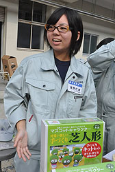 園芸セラピー活動=高校生活 浅野仁実さん(17)=岡山・高松農業3年