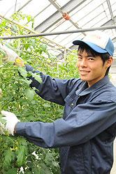 自然に回帰する水田づくりを目指して 森田裕介さん(17)=佐賀・高志館2年