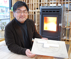 「日本の森バイオマスネットワーク」の佐々木豊志さん