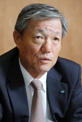 久保俊裕 クボタ専務=大阪市浪速区で2013年8月28日、長谷川直亮撮影