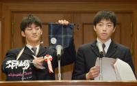 高知県立須崎高の生徒たち