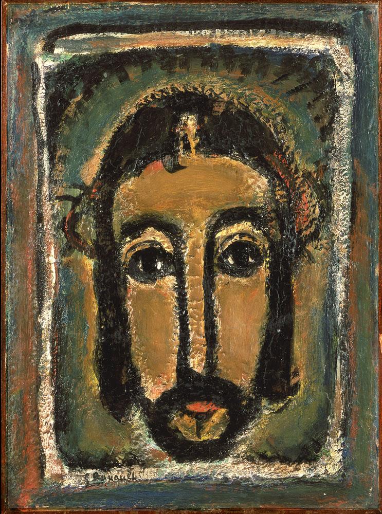 「聖顔」1946年頃 バチカン美術館蔵 Photo ©Governatorato S.C.V. - Direzione dei Musei