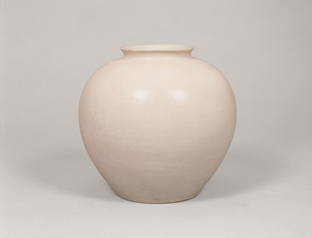 白磁壺 中国 唐時代 邢窯系
