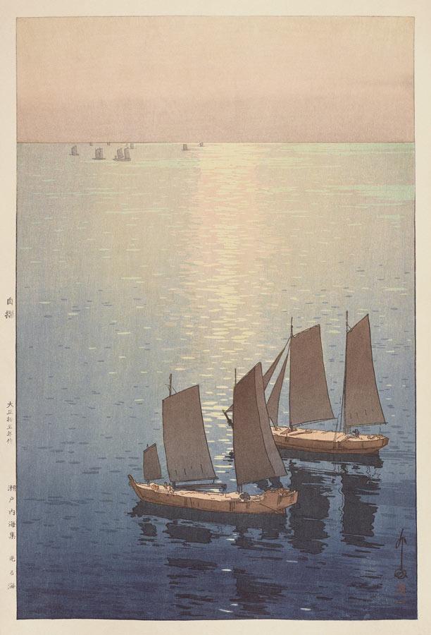 「光る海」 1926年