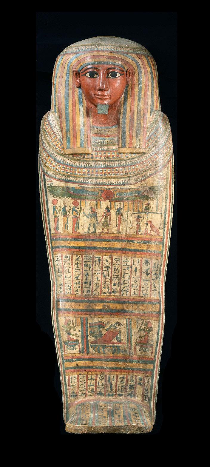 「ホルの外棺(蓋)」後期王朝時代
