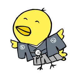 紋付袴なるほドリ