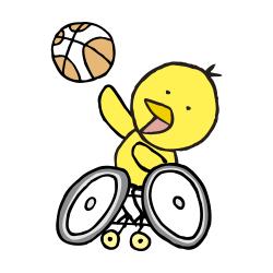 車椅子バスケなるほドリ