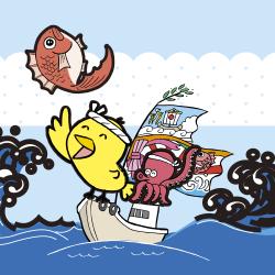 大漁なるほドリ