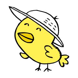 帽子をかぶったなるほドリ