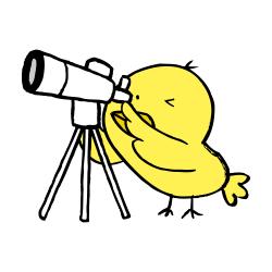 天体望遠鏡なるほドリ