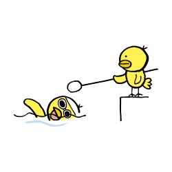 視覚障害水泳なるほドリ