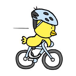 義足自転車なるほドリ