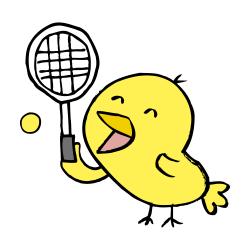 テニスなるほドリ