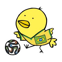 2014ブラジルなるほドリ