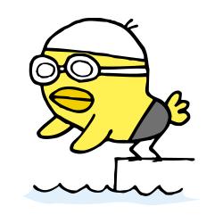 水泳なるほドリ