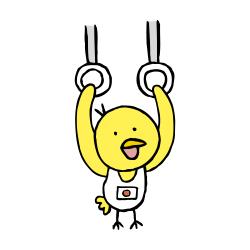 体操吊り輪なるほドリ
