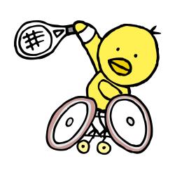 車椅子テニスなるほドリ